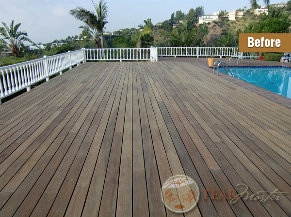 Deck Refinishing In Los Angeles